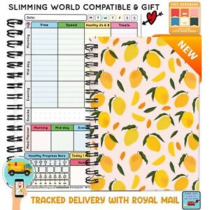 A5 Food DIARY Exercise Journal Tracker PLANNER Book Slimming WORLD Weight Loss