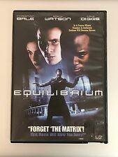 Equilibrium  DVD Christian Bale