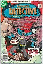 ***BATMAN: DETECTIVE COMICS #471**(AUG 1977, DC)**1ST APP OF HUGO STRANGE**FN***