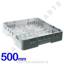 CAMBRO 500mm x 500mm x 100mm -plat-machine à laver SUPPORT POUR LES VERRES GRIS