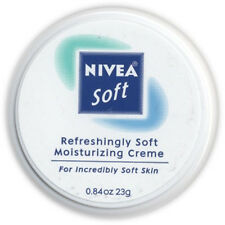 LOT of 3 Nivea Soft Refreshingly Soft Moisturizing Creme 23g/0.84oz Each