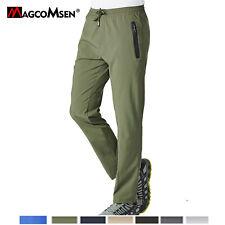 Secagem Rápida Masculino Ao Ar Livre Alta com Elástico calça caminhada ecológica Caça Calças