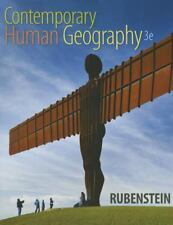 Contemporary Human Geography by James M. Rubenstein (2014, Paperback)