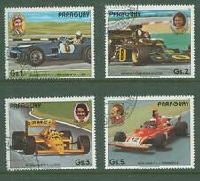 Paraguay A25 SPORT Formula 1 Ferrari Mersedes Lotus 4v used 1989