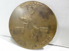 WWII VINTAGE US Army XXX Corps 30th Normandy Battle Order Medal