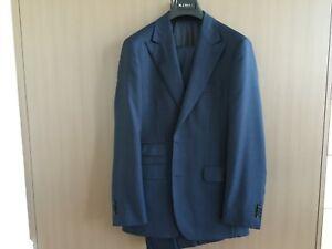 Brand New MJ Bale Navy Peak Lapel Suit Size 38