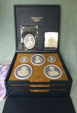 LIMITED EDITION WEDGWOOD MEDALLIONS SET OF 14    NO 138 of 200 LTD