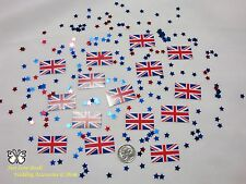 Wedding Table Scatters Confetti Flags - England BUY 1 GET 1 FREE
