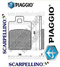 PASTICCHE FRENI GILERA RUNNER SP 180 cc dal 1999 -BRAKE PADS- PIAGGIO 666574