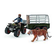 Schleich 42351 Quad mit Anhänger und Ranger