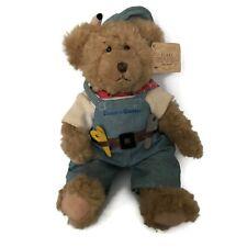 "Russ Bears From The Past Mr. Fix It Teddy Bear 10"" Stuffed Plush"