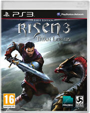 RISEN 3 TITAN LORDS FIRST EDITION PS3 BRAND NEW AND SEALED
