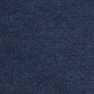 Navy Blue Budget Cord Carpet, Cheap Thin Temporary Floor Covering, Exhibition