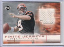 Carson Palmer 2003 Upper Deck UD Finite Rookie Jersey Patch RC *BENGALS*