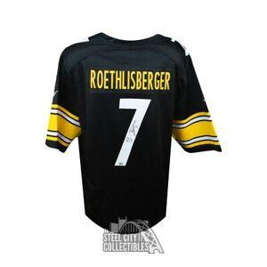 Ben Roethlisberger Autographed Pittsburgh Steelers Nike Football Jersey Fanatics