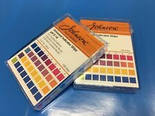 Universal Paper Precise Indicator, pH 0-14, 100 Strips in a Tidy Case Made in UK