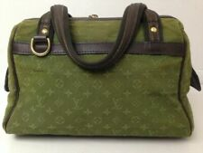 Louis Vuitton handbag Monogram Mini Lin Josephine PM Khaki Hand Bag