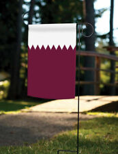 New Toland Flag of Qatar 12.5 x 18 Nation Country Garden Flag New Purple White