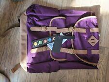 "Benrus 19"""" Rucksack Backpack - Purple"