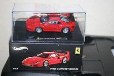 Ferrari F40 Competizione Rot Red Hot Wheels Elite X5507 1:43 PC OVP RAR