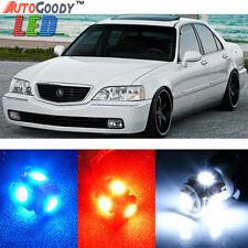 9 x Premium Xenon White LED Lights Interior Package kit Acura RL 1999-2004 +Tool