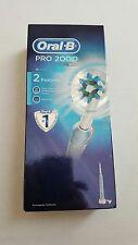 Oral-B Pro 2000 Recargable Eléctrico Cepillo de Dientes Azul (nuevo)