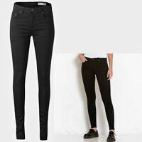 Ladies High Waist Super Skinny Jeans BNWT Sizes 8 10 12 14 (S-XL) Leg 31 32 33