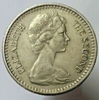British Rhodesia 10 cents 1964 high grade coin Queen Elizabeth II high grade !
