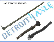 3pc: Drag Link and Outer Tie Rod End Links for Ford F-250 F-350 Super Duty 4WD