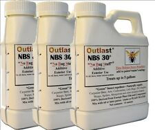 (3) Outlast NBS 30 Stain Additive Green Insect Repellent Treats 15 Gallons total