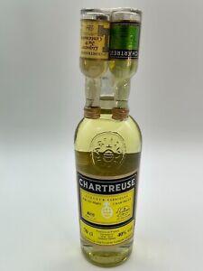 CHARTREUSE AMARILLO VOIRON FRANCE AÑO 1996 +2 mignonette 70cl. 40% RARE ORIGINAL