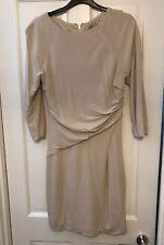Karen Millen Cream Work Party Dress Size 12