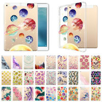 For Apple iPad 9.7 inch 2017 Clear Transparent Slim Soft TPU Tablet Cover Case