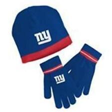 Neuf Licence Ny New York Giants Jeunesse Bonnet Gant Ensemble Brodé Dernier Ones