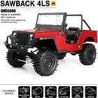 NEW Gmade GM55000 1/10 GS01 4WD Sawback 4LS 4 Link Kit w/Clear Body FREE US SHIP