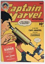 ESS191 CAPTAIN MARVEL ADVENTURES No. 35 7.5 VF- (1944) Origin & 1st App. RADAR {