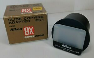 Nikon Camera Slide Copy Adapter ES-1 w/Box