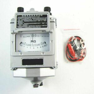 Megger Meter Isolationstester Widerstandsmesser 1000MΩ 1000V 120 U/min mit Kabel