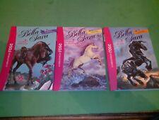 Bella Sara lot de 3 romans Bibliothèque rose - collectif