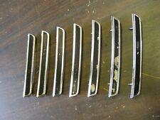 OEM Ford 1970 Torino GT Quarter Panel Ornaments Hash Marks Fins Ranchero Emblems