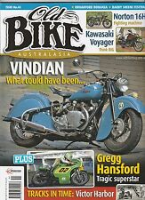Vincent / Indian (VINDIAN) NORTON 16H Greg Hansford Kawasaki Voyager OLD BIKE 44