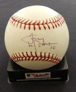 Tony LaRussa signed baseball / JSA cert