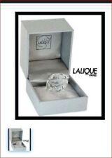 $315 Lalique Bague 53 Size 6.5 Fleur Ronces Clear Crystal Ring Mint in Box