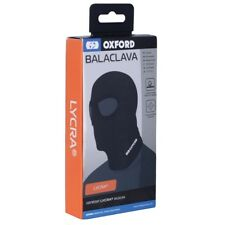 Oxford Double Eye Motorcycle  Comfortable Stretch Lycra Balaclava Black CA010 T