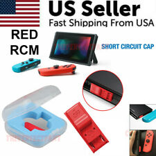 Red Rcm Tool Clip Short Circuit Jig For Nintendo Switch Loader Recovery Mode New