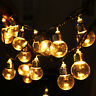6M 20LED Fairy String Light Bulb Ball Lamp Bead Home Party Wedding Decor EU Plug