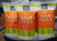 AKN Organics Pure Cassava Flour Gluten Free ( 2 kg X 2 )