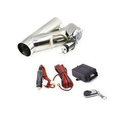 """2.25"""" 57mm Electric Exhaust Valve Catback Downpipe Y-Pipe Cut System Remote Kit"""