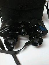Vintage SWIFT 8 x 30 Tecna Binoculars made in Japan Black With Case #733