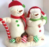 CHRISTMAS HALLMARK JINGLE PALS SNOWMEN SEASONS TREATING ANIMATED MUSICAL SINGING
